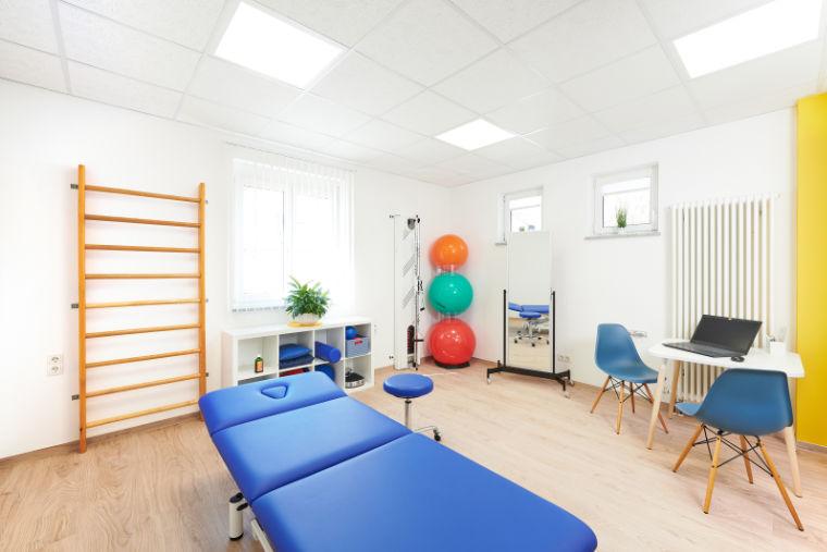 Behandlungsraum - Physiotherapiepraxis in Kempten
