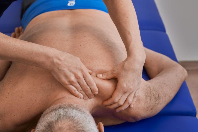 Massage in der Physiotherapiepraxis in Kempten