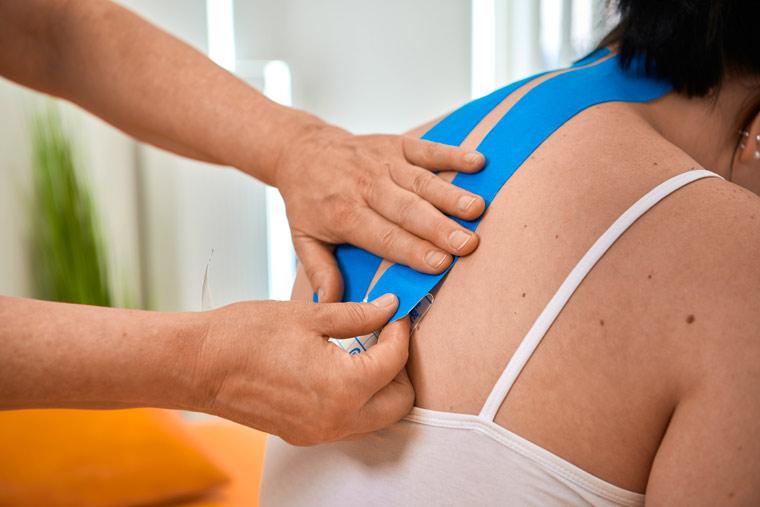 Taping der Praxis für Physiotherapie, Susanne Wiedemann - Kempten